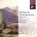 Mahler - Symphonies nos 4 & 5