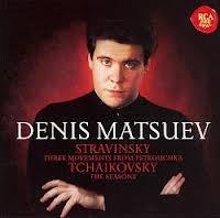 Stravinsky/Tchaikovsky - Three Movements From Petr