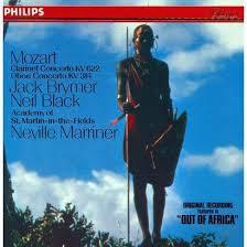 Mozart - Clarinet, Oboe Concertos (CD)