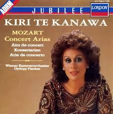 Kiri Te Kanewa - Mozart Concert Arias  (CD)