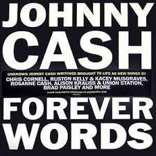 JOHNNY CASH - FOREVER WORDS (LP)