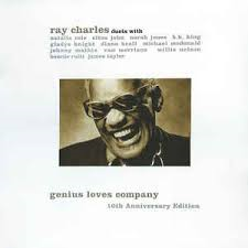 RAY CHARLES - GENIUS LOVE COMPANY (LP)