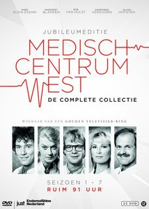Medisch Centrum West - De Complete 22 DVD Box (Seizoen 1-7)