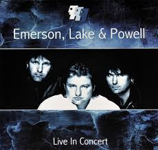 EMERSON, LAKE & POWELL - LIVE IN CONCERT (LP)