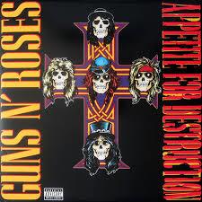 GUNS 'N ROSES - APPETITE FOR DESTRUCTION (LP)