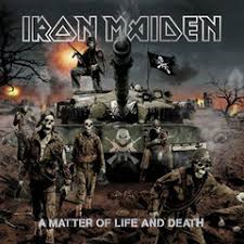 IRON MAIDEN - A MATTER OF LIFE AND DEATH (LP)