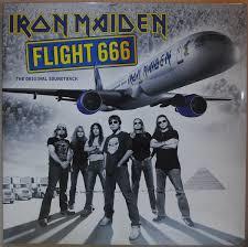 IRON MAIDEN - FLIGHT 666 (LP)
