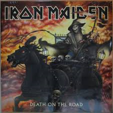 IRON MAIDEN - DEATH ON THE ROAD (LP)
