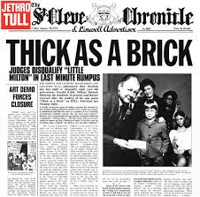 JETHRO TULL- THICK AS A BRICK (LP)