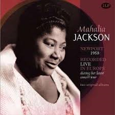 MAHALIA JACKSON - RECORDED LIVE IN EUROPE (LP)
