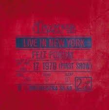 DOORS - LIVE IN NEW YORK FELT FORUM (LP)