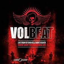 VOLBEAT - LIVE FROM BEYOND HELL/ABOVE HEAVEN (LP)