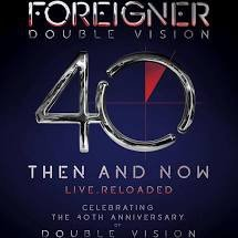 FOREIGNER - DOUBLE VISION THEN AND NOW (LP)