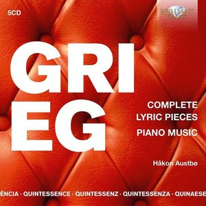 Hakon Austbo - Complete Lyric Pieces Piano Music (Grieg)
