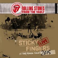ROLLING STONES - STICKY FINGERS AT THE FONDA THEATRE 2015 (LP)