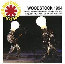 RED HOT CHILI PEPPERS - WOODSTOCK 1994 (LP)