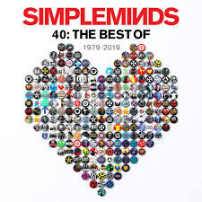 SIMPLE MINDS - 40: THE BEST OF (LP)