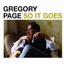 GREGORY PAGE - SO IT GOES (LP)