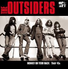 OUTSIDERS - MONKEY ON YOUR BACK (LP)