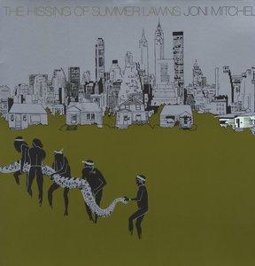 JONI MITCHELL - THE HISSING OF SUMMER LAWNS (LP)
