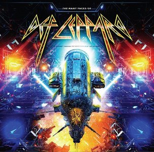 DEF LEPPARD - THE MANY FACES OF DEF LEPPARD (LP)