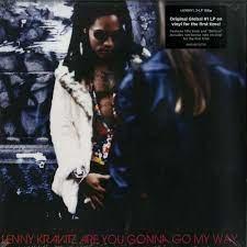 LENNY KRAVITZ - ARE YOU GONNA GO MY WAY (LP)
