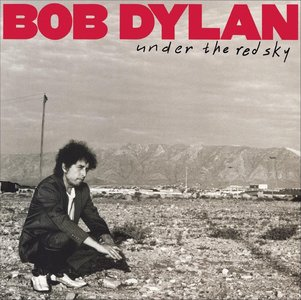 BOB DYLAN - UNDER THE RED SKY (LP)