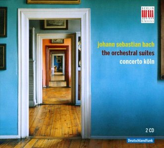BACH - THE ORCHESTRAL SUITES CONCERTO KOLN (CD)